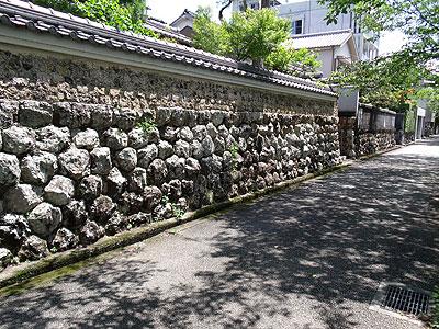 [旧・築屋敷町の風景]