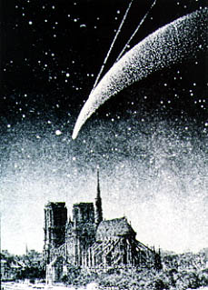 [Comet Donati over the City Hall of Paris]