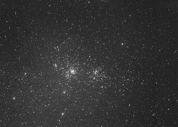 [The Double Star Cluster in Perseus]